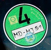 Environmental Sticker Germany